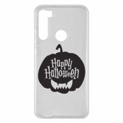 Чехол для Xiaomi Redmi Note 8 Happy halloween smile