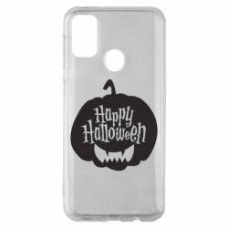 Чохол для Samsung M30s Happy halloween smile