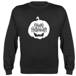 Реглан (світшот) Happy halloween smile