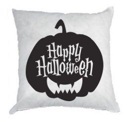 Подушка Happy halloween smile