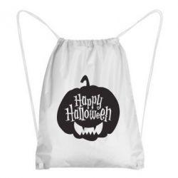 Рюкзак-мішок Happy halloween smile