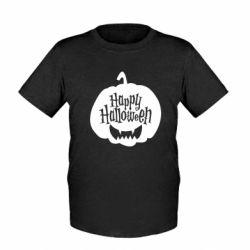 Дитяча футболка Happy halloween smile