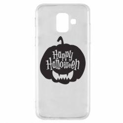 Чохол для Samsung A6 2018 Happy halloween smile