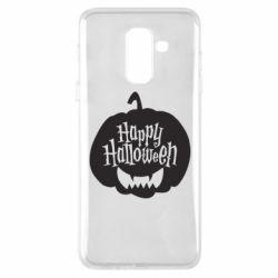 Чохол для Samsung A6+ 2018 Happy halloween smile