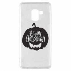 Чохол для Samsung A8 2018 Happy halloween smile