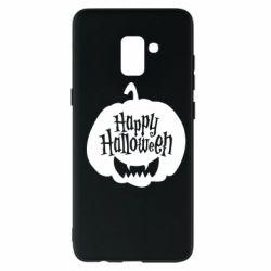 Чохол для Samsung A8+ 2018 Happy halloween smile