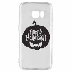 Чохол для Samsung S7 Happy halloween smile