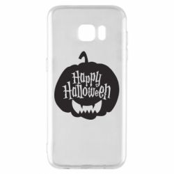 Чехол для Samsung S7 EDGE Happy halloween smile