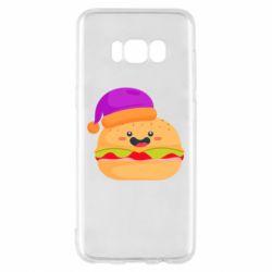Чехол для Samsung S8 Happy hamburger