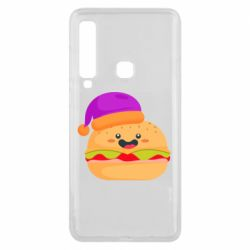 Чехол для Samsung A9 2018 Happy hamburger