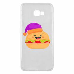 Чехол для Samsung J4 Plus 2018 Happy hamburger