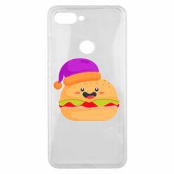 Чехол для Xiaomi Mi8 Lite Happy hamburger