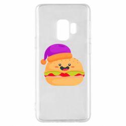 Чехол для Samsung S9 Happy hamburger