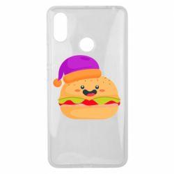 Чехол для Xiaomi Mi Max 3 Happy hamburger