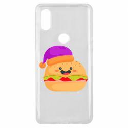 Чехол для Xiaomi Mi Mix 3 Happy hamburger