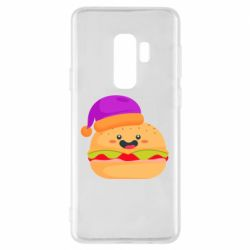 Чехол для Samsung S9+ Happy hamburger