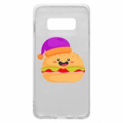 Чехол для Samsung S10e Happy hamburger