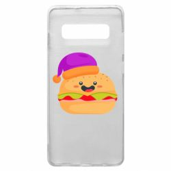 Чехол для Samsung S10+ Happy hamburger