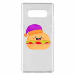Чехол для Samsung Note 8 Happy hamburger