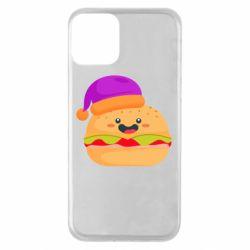 Чехол для iPhone 11 Happy hamburger