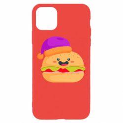 Чехол для iPhone 11 Pro Happy hamburger