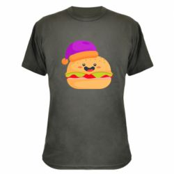 Камуфляжная футболка Happy hamburger