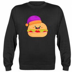 Реглан (свитшот) Happy hamburger
