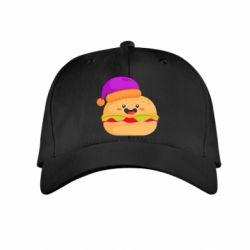 Детская кепка Happy hamburger