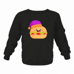 Детский реглан (свитшот) Happy hamburger