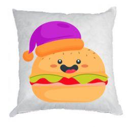 Подушка Happy hamburger