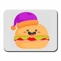 Коврик для мыши Happy hamburger