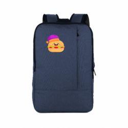 Рюкзак для ноутбука Happy hamburger