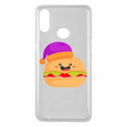 Чехол для Samsung A10s Happy hamburger