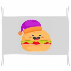 Флаг Happy hamburger