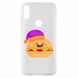 Чехол для Xiaomi Mi Play Happy hamburger