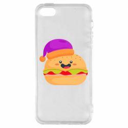 Чехол для iPhone5/5S/SE Happy hamburger
