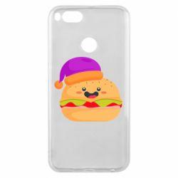 Чехол для Xiaomi Mi A1 Happy hamburger
