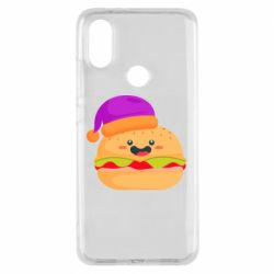 Чехол для Xiaomi Mi A2 Happy hamburger