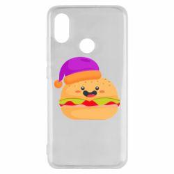 Чехол для Xiaomi Mi8 Happy hamburger