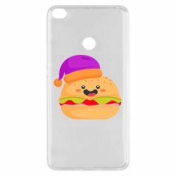 Чехол для Xiaomi Mi Max 2 Happy hamburger