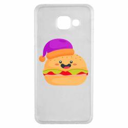 Чехол для Samsung A3 2016 Happy hamburger