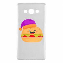 Чехол для Samsung A7 2015 Happy hamburger