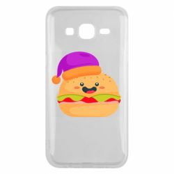 Чехол для Samsung J5 2015 Happy hamburger