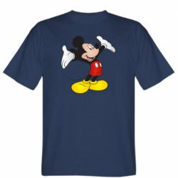 Чоловіча футболка Happy Mickey Mouse
