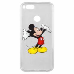 Чехол для Xiaomi Mi A1 Happy Mickey Mouse