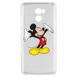 Чехол для Xiaomi Redmi 4 Happy Mickey Mouse