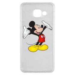 Чохол для Samsung A3 2016 Happy Mickey Mouse
