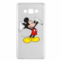 Чохол для Samsung A7 2015 Happy Mickey Mouse