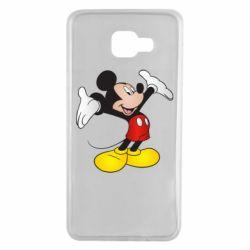 Чохол для Samsung A7 2016 Happy Mickey Mouse