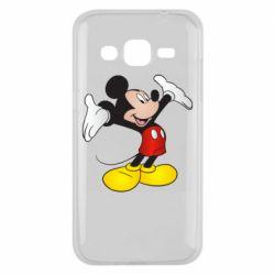 Чохол для Samsung J2 2015 Happy Mickey Mouse